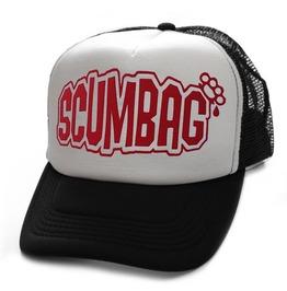 Toxico Clothing Unisex Scumbag Black And White Trucker Hat