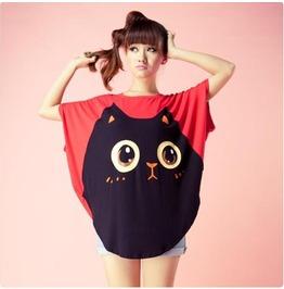 Cat Tee / Camiseta Gato Wh271