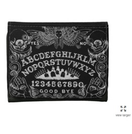 Ouija Board Black Wallet Faux Leather Or Leather