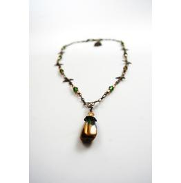 Handmade Steampunk Swallow Necklace