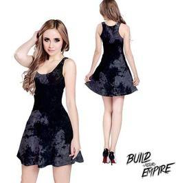 Concrete Grunge Dress