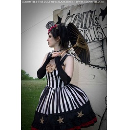 Gloomth Star Carousel Haunted Circus Gothic Dress