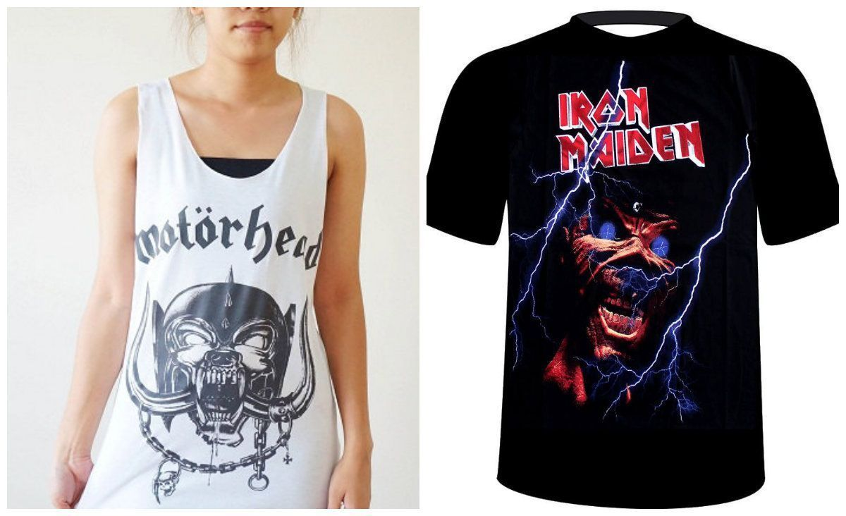 20 Awesome Metal Band T-Shirts