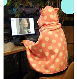 Cat Blanket / Manta Gato Wh236