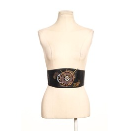 Steampunk Leather Belt B072