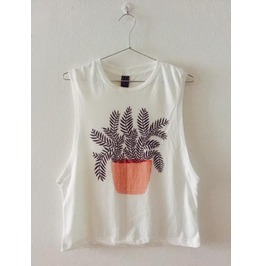 Plants Fashion Pop Rock Indie Unisex Vest Tank Top M