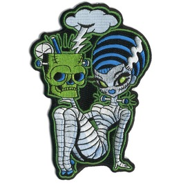 Mitch O'connell Bride Of Frankenstein Patch