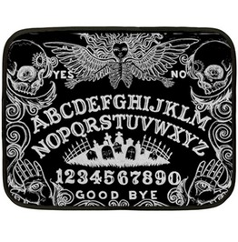 Ouija Board Black Lap Blanket