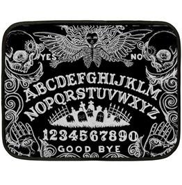Ouija Board Black Lap Blanket