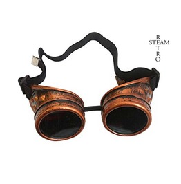 Steampunk Madmax Goggles Glasses Aviator Cyber Gothic Lenses Welder Glasses