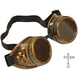 Steampunk Goggles Glasses Aviator Cyber Gothic Lenses Welder Glasses