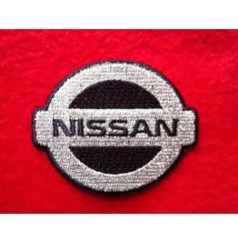 Nissan Iron On Embroidered Patch Patches 2.0 X 2.0 Inches Auto Car