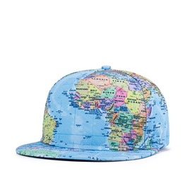 Traveling Around The World Baseball Cap World Map Cap 0277