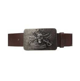 6 Type Buckle Belt Wz034 B Skull