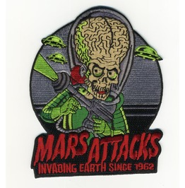Mars Attacks Martian Invader Patch