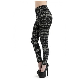 Ouija Occult Leggings From Jawbreaker Goth, Punk, Grunge, Rock