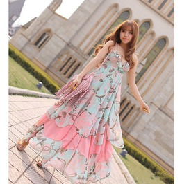 Kawaii Long Dress / Vestido Largo Kawaii Wh194