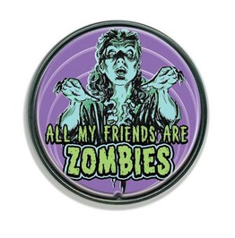 Zombie Friends Belt Buckle