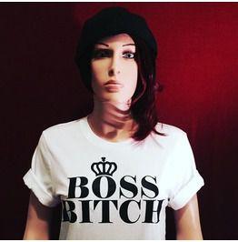 """""""All Hail"""" Boss Bitch Tee"""