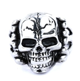 Cool! Men's Skull Ring Stainless Steel Ring Usa Size 9