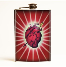 Bleeding Heart Flask