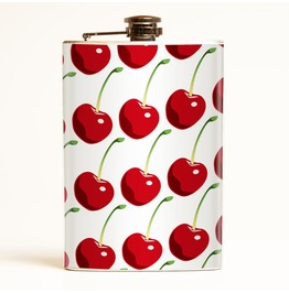 Cherries Flask