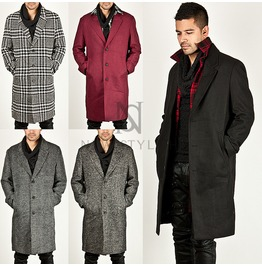 Sophisticate 3 Button Single Over Fit Coat 72