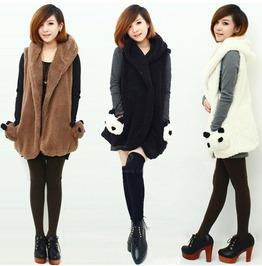 Panda Pockets Waistcoat / Chaleco Bolsillos Panda Wh047