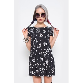 Iron Fist Clothing Women's Scatterbrain Skull Print Dress