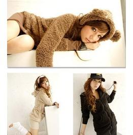 Teddy Bear Hoodie / Chaqueta Oso Wh002