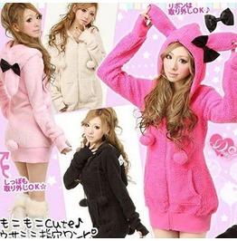 Bunny Rabbit Hoodie / Chaqueta Conejito Wh140