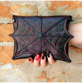 Spider Web Makeup Cosmetic Bag For Purse,