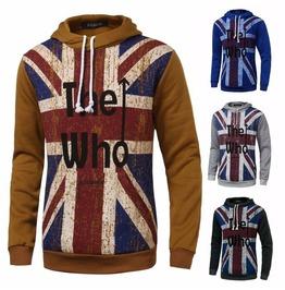 Men The Who British Flag Hooded Sweatshirt