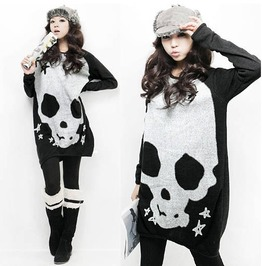 Skull sweater jersey calavera wh101 cardigans and sweaters 6