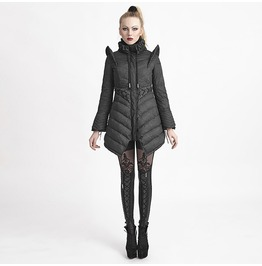 Women's Goth Long Winter Coat