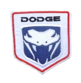 Dodge Big Patch Iron On Sew On Classic Cars Usa Snake