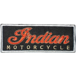 Indian Motor. Patch Iron On Sew On Classic Cars Retro Vintage