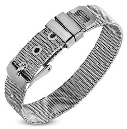 12mm Stainless Steel Mesh Belt Buckle Bracelet Tba004