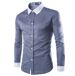 Casual Men Dress Shirt