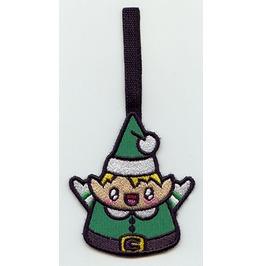 Embroidered Kawaii Christmas Elf Hanging Christmas Decoration