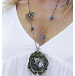 Daenerys Necklace, Game Of Thrones Necklace, Original Illustration