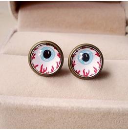 Fashion Vintage Eye Stud Earrings