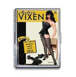 Bettie Page Modern Vixen Cigarette Case