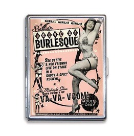 Bettie Page House Of Burlesque Cigarette Case