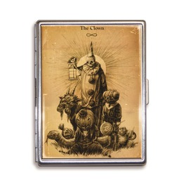 Theatre Bizarre The Clown Cigarette Case