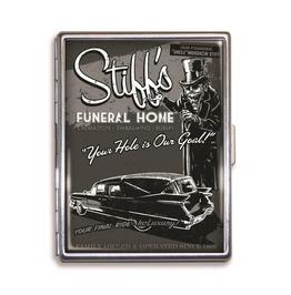 Stiff's Funeral Home Cigarette Case