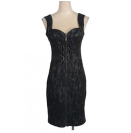 Bodycon Alternative Gothic Corset Dress From Punk Rave Brand