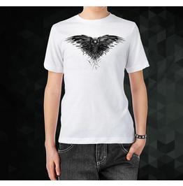 T Shirt Got Game Of Thrones Raven Black Tv Series Man Men White Shirt Tee