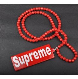 Hip Hop Fashion Red Men Necklace