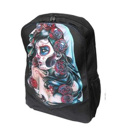 Alternative Dia De Los Muertos Backpack By Darkside Clothing Sugar Skull